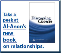 Take a look at the new issue of al anon